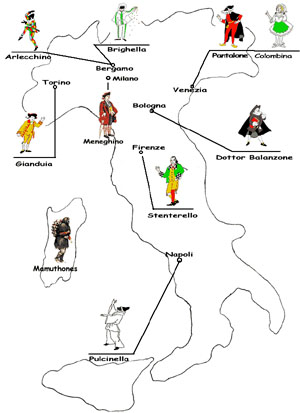 Maschere tradizionali di carnevale costumi di carnevale for Pianetabambini it maschere di carnevale