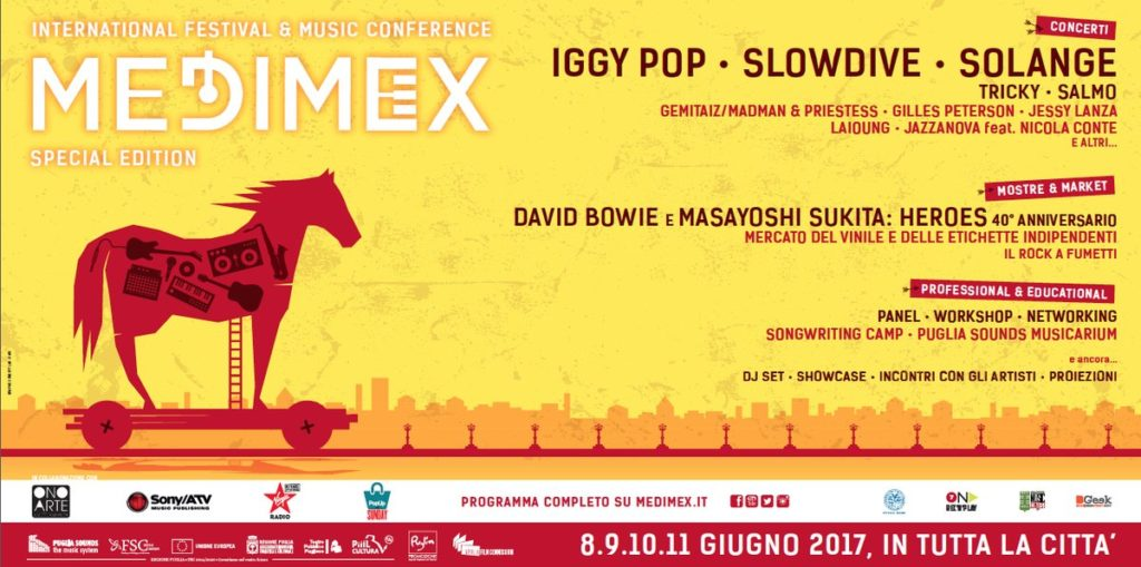 Medimex 2017 - International Festival & Music Conference - BARI (Italy)