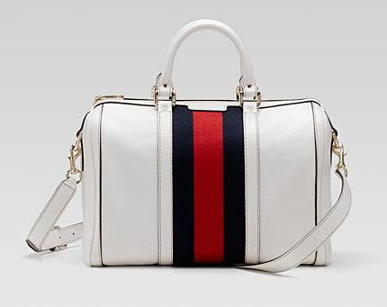 borsa bianca gucci