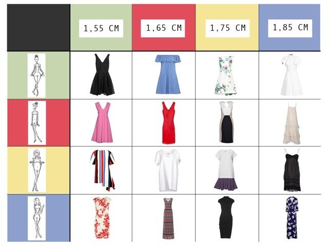 misure vestiti