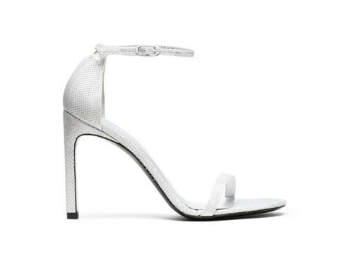 sandali bianchi stuart weitzman